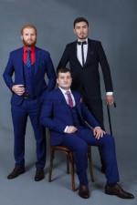 01987 Мужские классические костюмы