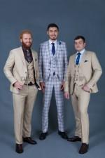 02017 Мужские классические костюмы