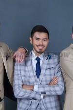 02016 Мужские классические костюмы