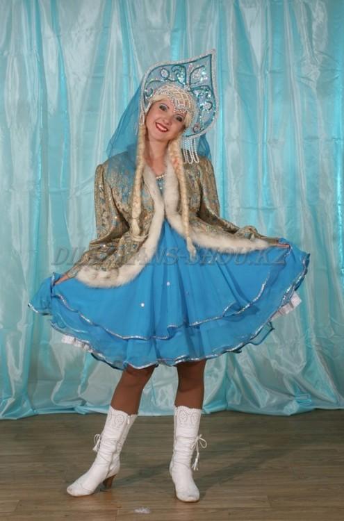 создается снегурочка красивый костюм с юбкой марки