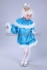 01222 Костюм новогодний голубая принцесса