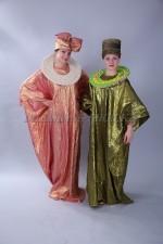02723 Африканские национальные костюмы женские