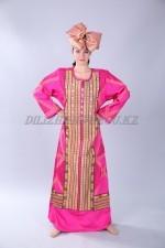 2211. Африканский национальный костюм женский