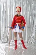 02732 Гусарский женский костюм