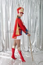 02733 Гусарский женский костюм