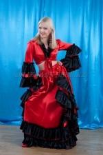 02725 Испанский костюм женский