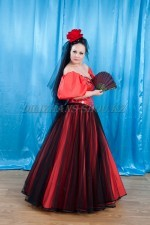 02726 Испанский костюм женский