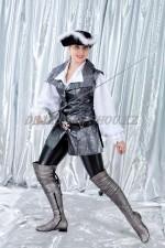 02736 Пиратка в серебряном жилете