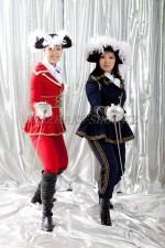 1230. Женские пиратские костюмы