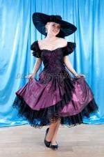 02775 Платье в стиле ретро