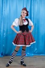 2195 Шотландский национальный костюм женский