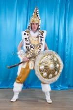 2012. Костюм казахского воина