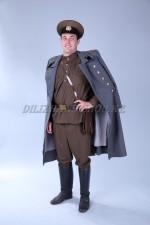 1443. Советский офицер в шинели