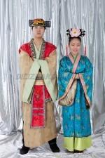 2141. Корейские национальные костюмы