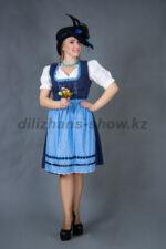 02273 Немецкий традиционный женский костюм