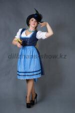 02274 Немецкий традиционный женский костюм