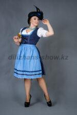 02275 Немецкий традиционный женский костюм