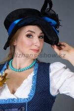 02276 Немецкий традиционный женский костюм
