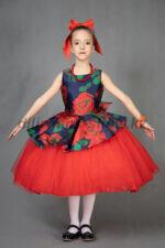 """00872 Платье """"Бутон 3"""""""