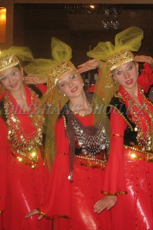 Уйгурский народный танец