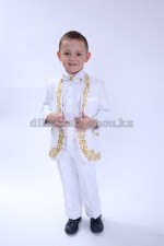 00984 Детский костюм с национальным казахским орнаментом