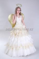 1331. Рождественский Ангел с золотыми крыльями