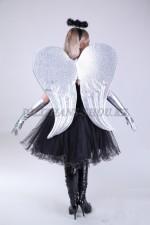 1333-k. Серебрянные крылья для ангелов