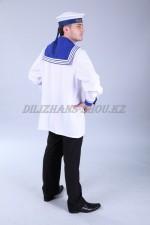 m-8523 Взрослый карнавальный костюм моряка