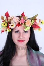 03160 Венок цветочный