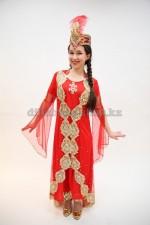 00791 Уйгурский праздничный костюм «Фатима 04»