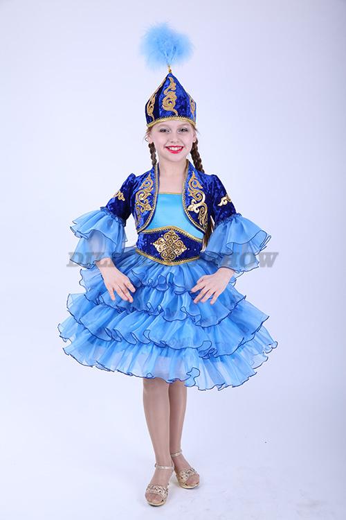 Казахские костюмы для девочек сшить своими руками 8