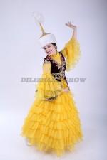 00495 Казахский национальный костюм 020