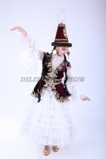 00559 Казахский национальный костюм 23