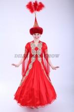 00494 Казахский национальный костюм 019