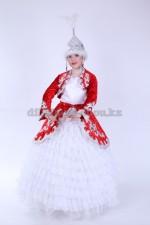 2028. Казахский национальный женский костюм