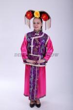 33586. Китайский костюм розово-фиолетовый