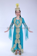 00789 Уйгурский праздничный костюм «Фатима 01»
