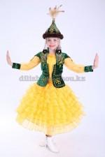 """00545 Казахский национальный костюм """"Сулу"""" 02"""