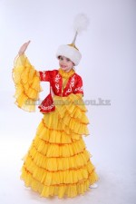 0103. Казахский костюм