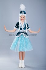 00557 Казахский национальный костюм 021