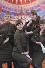 03028 Солдатская форма для девушек