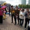Фототерритория на площади Астаны 09.05.2016