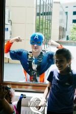 """Окна мыли альпинисты в костюмах от """"Дилижанс-шоу"""" для деток с диагнозом ДЦП, АУТИЗМ"""