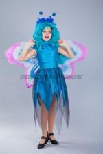 00108 Бабочка голубая