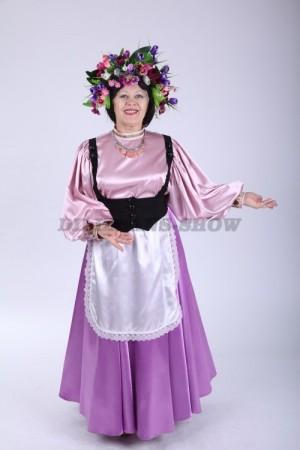 02253 Женский итальянский костюм