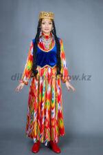 02212 Узбекский национальный костюм