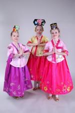 Корейские костюмы для девочек
