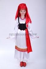 00816 Греческий национальный для девочки