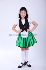 4107. Итальянский национальный костюм для девочки