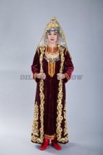 02242 Туркменский национальный женский